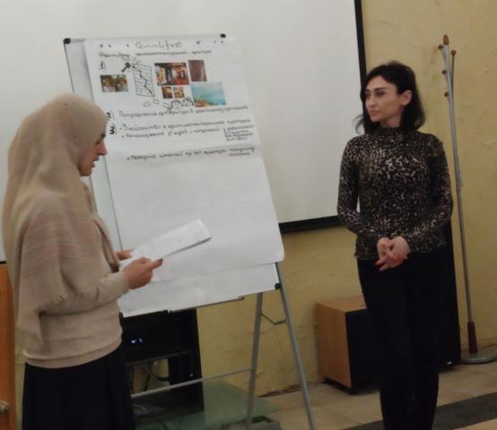 Голова «Ана-Юрт» Ніяра Мамутова — серед слухачів  «Академії Qırımlı»  для лідерів кримськотатарських громад