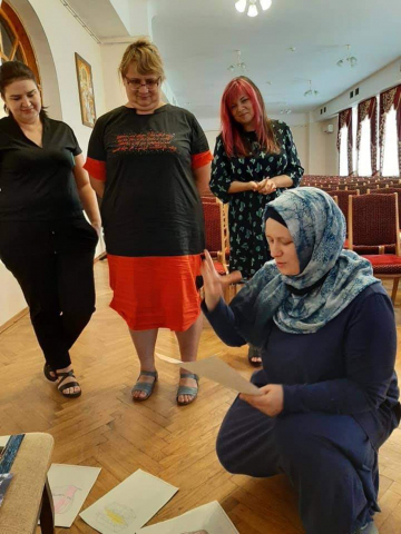 В проєкті «Бізнес-школа для жінок-ВПО» — мусульманки