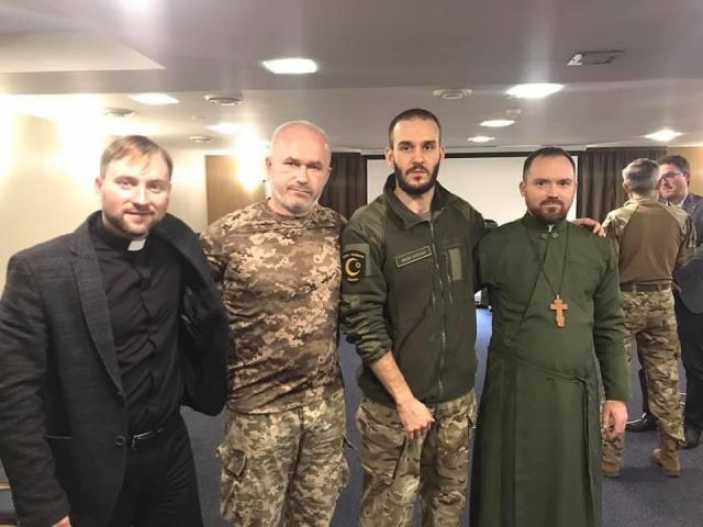 Імам-капелан Мухаммад Алі — серед слухачів семінару з Міжнародного гуманітарного права