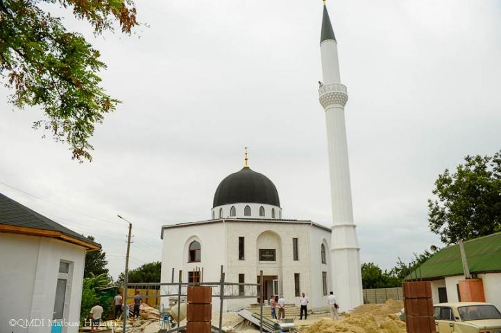 У соборній мечеті Красноперекопська завершилося будівництво мінарету