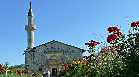 The mosque of Uzbek Khan