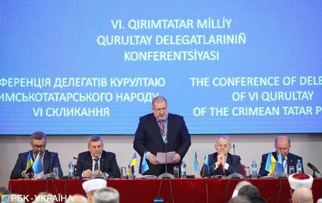 Скликана конференція делегатів Курултаю кримських татар