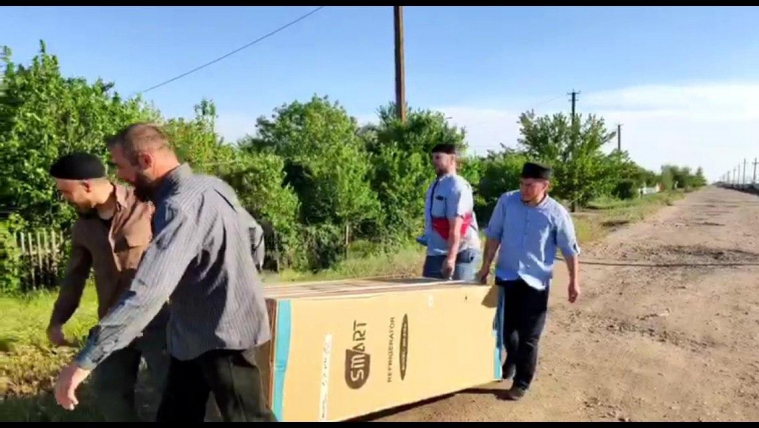 Another Fridge for Poor Muslims of Kherson Region