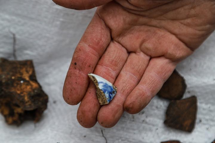©Думская: 07.12.2020. Археологи нашли на Приморском бульваре Одессы осколки турецкой, античной и скифской керамики