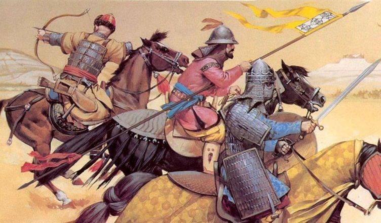 Половецкое войско в бою