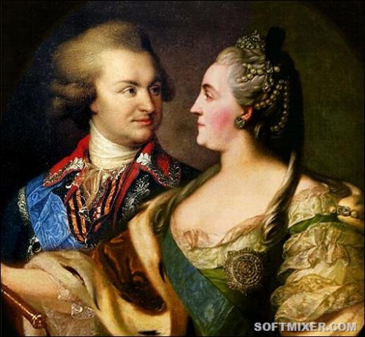 Потьомкін і цариця Катерина