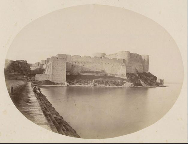 Ранні фото фортеці авторства Карла Мігурского, 1869р