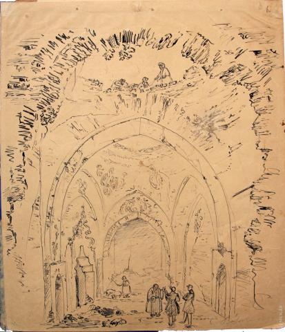 Малюнок зроблений в Акермані Карлом Боссолі