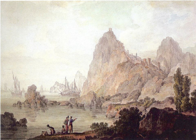 Судакская крепость на картине М.Иванова