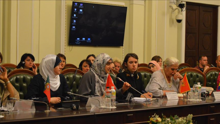 Delegation of Conscience Convoy addresses human rights abuses against Syrian women in Assad prisons at roundtable in Kiev