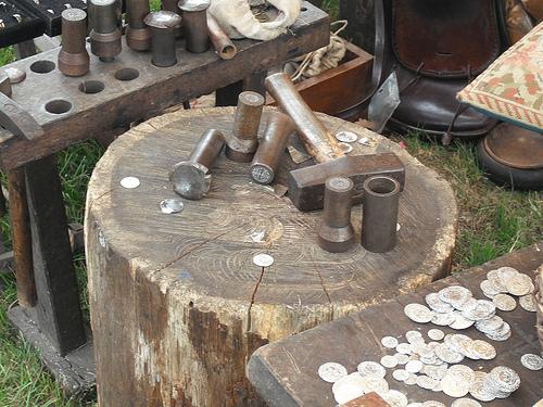 Інструменти середньовічного монетного двору
