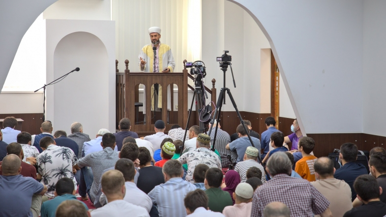 Как украинские мусульмане праздновали Курбан-байрам (фоторепортаж)
