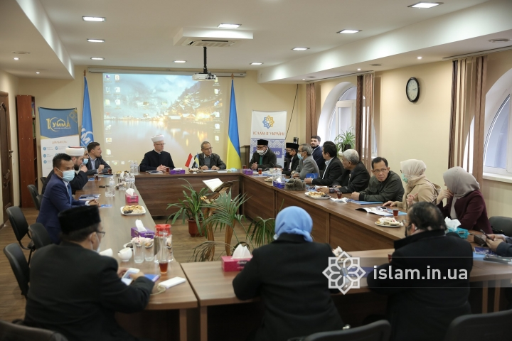 Indonesian Muslims are on an official visit to Ukraine