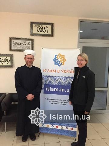 Ukraine's Acting Minister of Health Meets Mufti Said Ismagilov