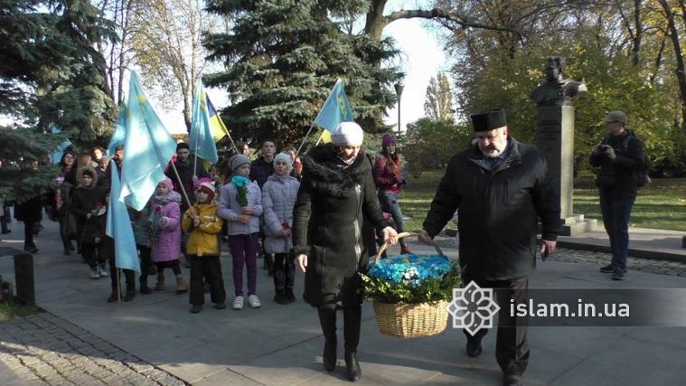 Дуа в пам'ять про кримськотатарського героя Амет-Хана Султана звучало в українській столиці