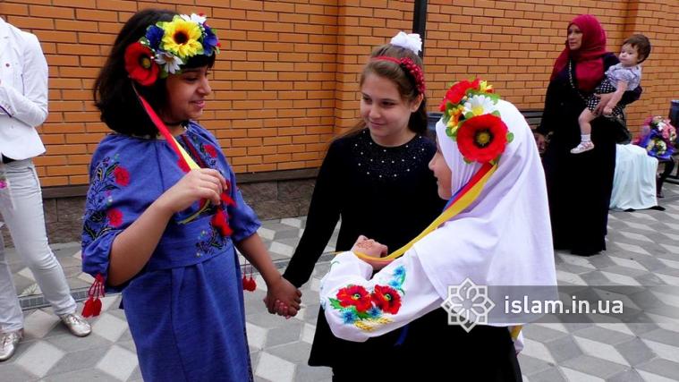 Навчальний рік у гімназії «Наше майбутнє» розпочався з гімну України та аятів Корану