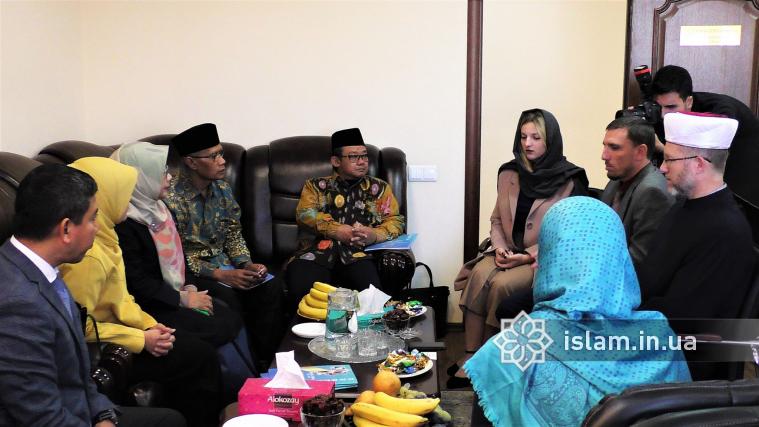 Індонезійська «Мухаммедія» й український «Альраід» мають намір співпрацювати