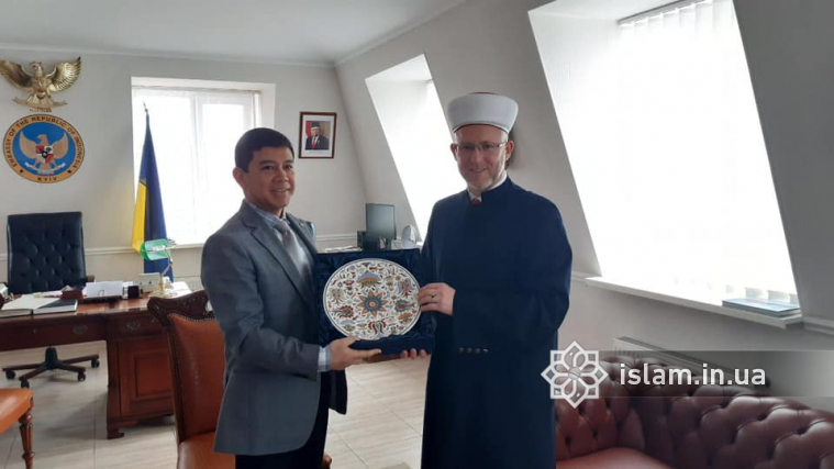 "Indonesian Ambassador Awarded With Medal ""For Devotion to Islam and Ukraine"""