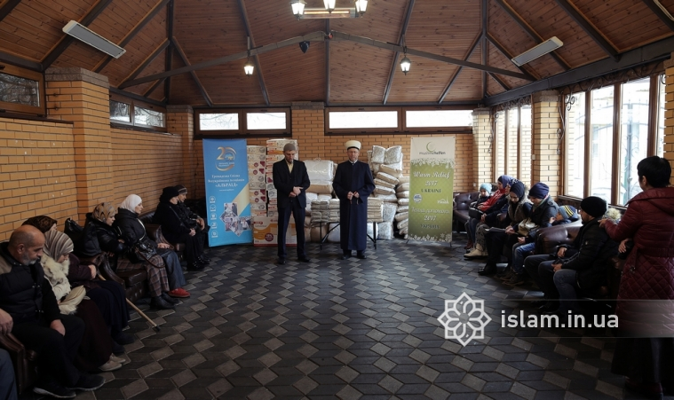 German Muslims continue support of needy families in Ukraine