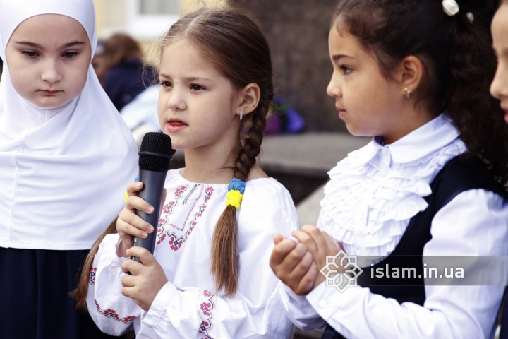 "The school year has started: the students of gymnasium ""Our Future"" celebrated the Day of Knowledge"