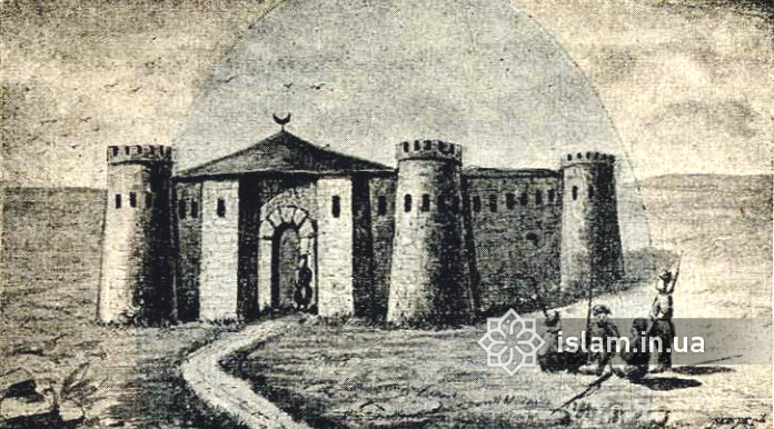 Хаджибейський замок був дуже схожий на замок в Татарбунарах