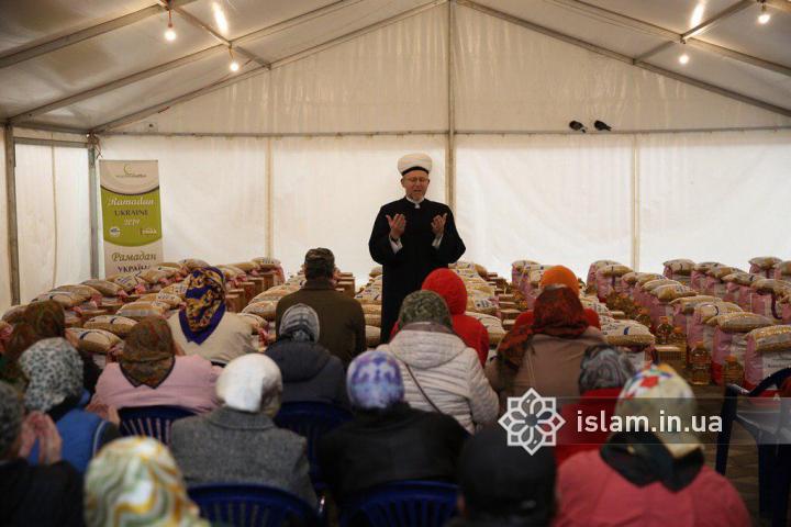 Допоможи нужденному заради милості Господа: спільна благодійна акція «Muslime Helfen» і ДУМУ «Умма»