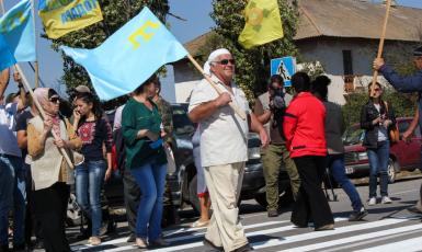 На Херсонщині поховали патріота кримськотатарського народу Сабрі Мухтарова