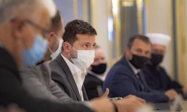 Президент провел встречу с украинскими религиозными лидерами