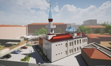 У Дніпрі презентовано проєкт мечеті
