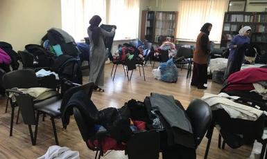 Мусульмане Днепра передали нуждающимся одежду в рамках акции «Теплая зима»