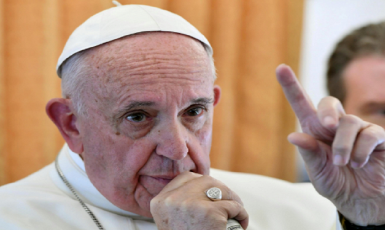 Pope Francis: You cannot reject refugees and call yourself a Christian