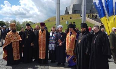 Мусульмани разом з усіма українцями промовляють: «Ніколи знову!»