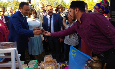 Muslims of Zaporizhzhya took part in the festival of national cultures