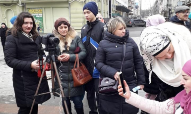 Акції до World Hijab Day в Одесі: Хіджаб — пригнічення чи свобода?