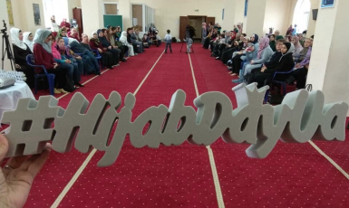The celebration of World Hijab Day in Kyiv: Facts, talks, and gifts