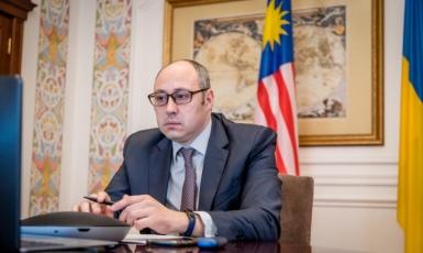 МИД: Заместитель министра иностранных дел Украины (CDTO) Дмитрий Сеник