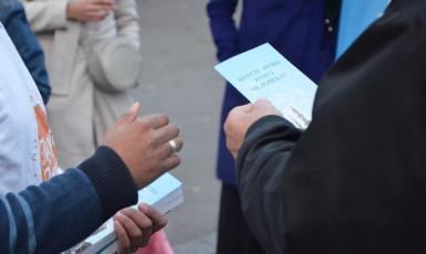©️Милость для человечества/фейсбук: Акция «Задай вопрос мусульманину» в Харькове 06.10.2019