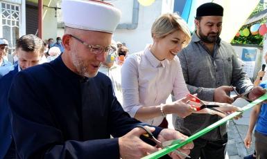 ©Степан Карачко: 15.08.2020, Черновцы. Торжественное открытие Исламского культурного центра «Буковина»