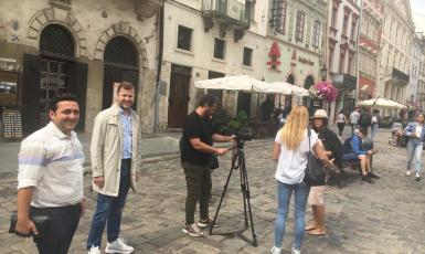 ©️Ірина Джиговська/Укрінформ: Турецький телеканал BeinIZ зніматиме документальний фільм про Львів