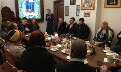Представники Всеукраїнської ради релігійних об'єднань у рамках World Interfaith Harmony Week відвідали одну з парафій ПЦУ