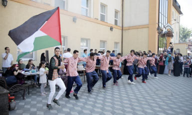 """Dabka"" dance, exhibitions and quizzes — Palestinian Culture Day at Kyiv ICC"