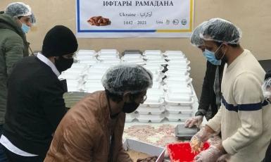 Украинские мусульмане в Рамадан продолжают помогать нуждающимся