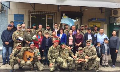 На Херсонщине мусульманам-защитникам вручены медали «За служение Исламу и Украине»