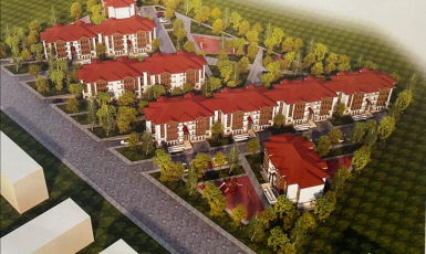 ©️МТОТ: Проєкт містечка для кримських татар, яке збудує Туреччина на Херсонщині