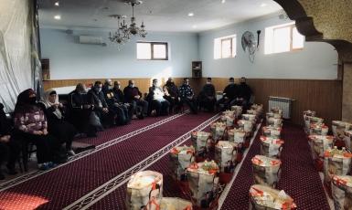 Зимняя помощь нуждающимся Запорожья от мусульман Германии