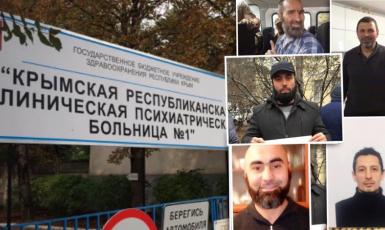 """Кримськотатарські політв'язні. Фото: Facebook """"Кримська солідарність"""""""