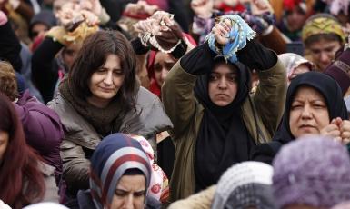Підпишемо петицію на захист жінок- бранок режиму Асада!