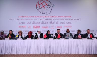 Міжнародний рух закликає звільнити жінок із в'язниць Сирії