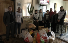 """When Attention is as Needed as Presents: """"Maryam"""" Activists Visit Hospice in Skybyn"""