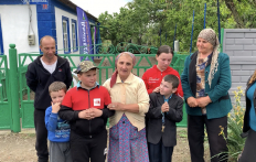 Third Family Celebrates Housewarming in a Bestowed House in Rykove